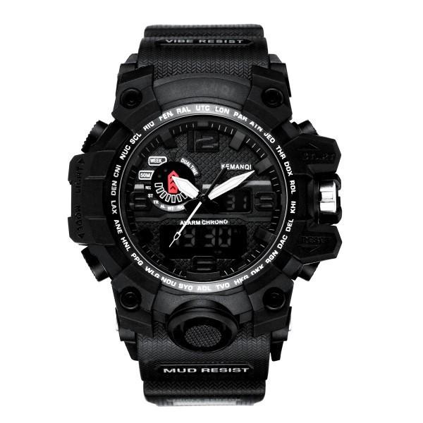 Ceas Barbatesc KEMANQI CS1002, curea silicon, digital watch