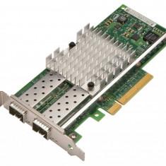 Placa de retea server DELL Intel X520-DA2 Dual-Port 10Gb SFP+ PCI-e Low-Profile DP/N 942V6