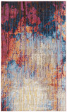 Covor Modern & Geometric Canan, Albastru/Maro, 90x150, Safavieh