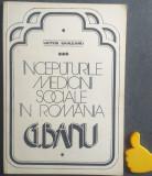 Inceputurile medicinei sociale in Romania G Banu Victor Sahleanu