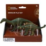 Set 2 figurine Iguanodon si Ankylosaurus National Geographic, 3 ani+