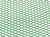Grila spoiler aluminiu verde 100x25cm, cod Grl1350 - 9744