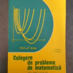 I. Giurgiu - Culegere de probleme de matematica pentru treapta a II-a de liceee