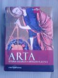 Arta , istoria vizuala a artelor plastice , editie 2008 , ilustrata color