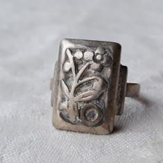 INEL argint GERMANIA vechi PANSELUTA vintage SPLENDID de efect UNICAT superb