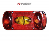 Lampa auto BestAutoVest pentru remorca cu 5 functii , partea stanga 12/24V , 215x100x55mm , 1 buc.