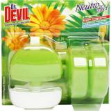 Cumpara ieftin Odorizante WC DR. DEVIL 3 in 1 Spring Jungle, 3 Buc/Set, Floral, 55 ml, Geluri Odorizante WC, Odorizante pentru Toaleta, Odorizant Toaleta, Gel Odoriz