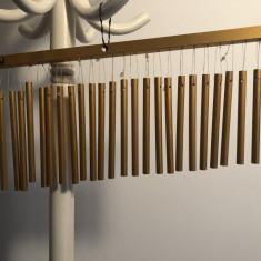 Instrument  de percutie Toca percusion, suport  cu 25 de tuburi