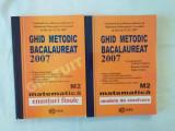 Matematica M2 - Ghid metodic bacalaureat 2007 - Enunturi finale Modele de rezolvare