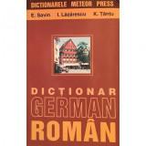 Carte E Savin - Dictionar German-Roman