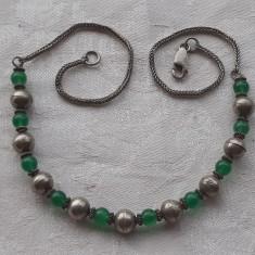 COLIER argint TRIBAL vintage SPLENDID de efect VECHI delicat ELEGANT finut RAR