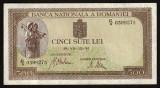 Romania, 500 lei 1941, circulată_filigran orizontal_serie C/9_0399275