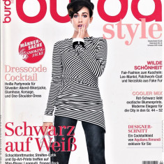 Burda revista de moda insert in limba romana 1/2014