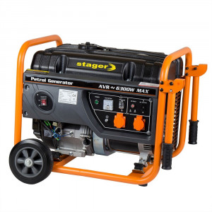 Generator curent electric pe benzina Stager GG 7300 3W- 6.3 kW