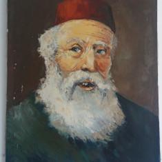 Tablou vechi - Portretul unui evreu - EXCEPTIONAL (102)