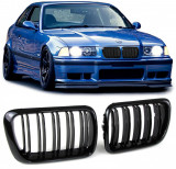 Grile duble negre BMW Seria 3 E36 96-99