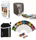 Hartie Foto Polaroid ZINK 30 buc + Album Foto Polaroid + Set Rame Foto Polaroid + Husa Neopren