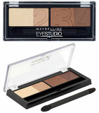 Paleta farduri Maybelline EYESTUDIO Natural Impact 05 Glamour Browns