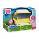 Set Peppa Pig, Figurina Peppa cu autorulota