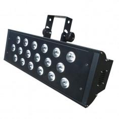 Stroboscop profesional, 18 LED-uri de cate 10 W, RGBW