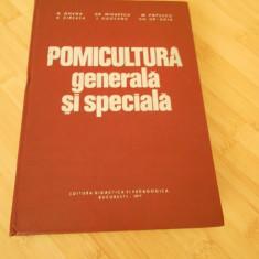 N. GHENA--POMICULTURA GENERALA SI SPECIALA - 1977