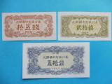 Cumpara ieftin COREEA DE NORD LOT 3 BANCNOTE - 15+20+50 CHON 1947-UNC (114)