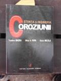 STIINTA SI INGINERIA COROZIUNII - TEODORA BADEA