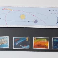 Timbre Anglia 1986 - Serie Cometa Halley, In Folie De Prezentare MNH