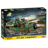 Cumpara ieftin Set de construit Cobi, Small Army, Tanc PT-91 Twardy (535 pcs)