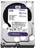 Hdd intern wd 3.5 3tb purple sata3 5400rpm 64mb surveillance
