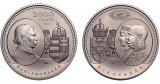 Moneda de 2000 forinti 2017, UNGARIA, nichel, 150 de ani de la dualism.