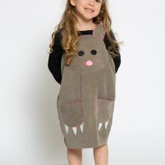 Sarafan-rochiță Șoricelul Jerry -costum serbare spectacol by KIDissue, 1-2 ani, 2-3 ani, 3-4 ani, 4-5 ani, 5-6 ani, 6-7 ani, 7-8 ani, 8-9 ani, 9-10 ani, Din imagine