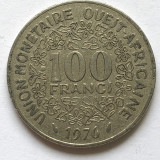 p724 Est Africa  100 franci 1976