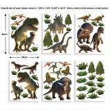Kit decor Sticker Lumea Dinozaurilor