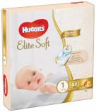 Scutece Huggies Mega Pack Elite Soft Nr.1, 3-5 kg, 82 buc