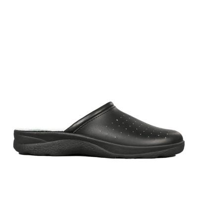 Papuci barbati Vorto negri foto