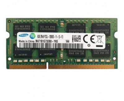 Memorie SAMSUNG sodimm 8Gb DDR3 PC3L-12800S 1600Mhz 1.35V,m471b1g73db0-yk0 foto