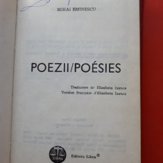 POEZII POESIES × Mihai Eminescu Editie bilingva