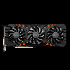 Placa video GIGABYTE Nvidia GeForce GTX 1070 Ti, N107TGAMING OC-8GD, 8GB GDDR5, 256 bit, PCI-E 3.0 x 16, GTX1010, Core Clock: Boost:1721 MHz / bulk