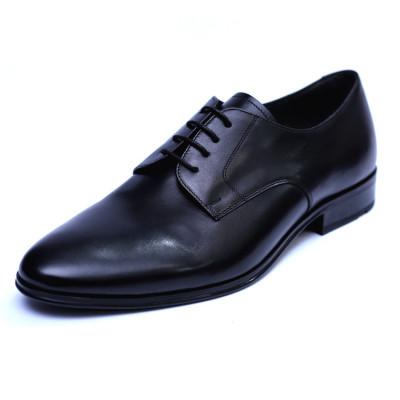 Pantofi barbati din piele naturala, 20s, ANNA CORI, Negru, 40 EU foto