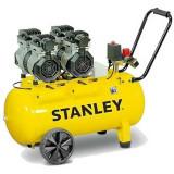 Compresor Silent Stanley SXCMS1324HE 24L 1.3CP 8 Bar 150 L/min 62dB