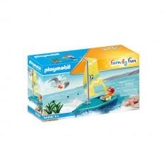 Playmobil Family Fun - Barca cu panze
