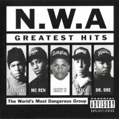 CD N.W.A – Greatest Hits, original, holograma