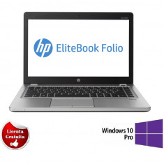 Laptop HP Folio 9470M Ultrabook i5-3427U 1.8GHz 8GB DDR3 128GB SSD 14.1 inch Webcam Soft Preinstalat Windows 10 Professional Refurbished