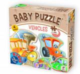 Cumpara ieftin Baby Puzzle Vehicles