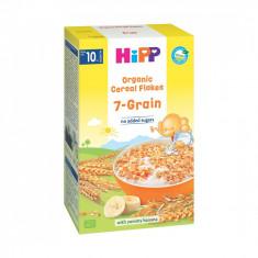 Fulgi de cereale ecologice Hipp - 7 Cereale, 200 g