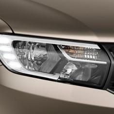 Far original Dacia Logan 2017-> cu lumina de zi cu 4 LED DREAPTA AL-131219-3
