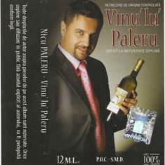Caseta Nicu Paleru – Vinu' Lu' Paleru, originala, holograma