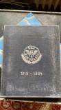 REGIONALA C.F.R București ,placheta de bronz aniversara in cutia originala., Europa, General