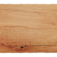 Platou melamina culoare lemn natural, 32.5x17.5 cm
